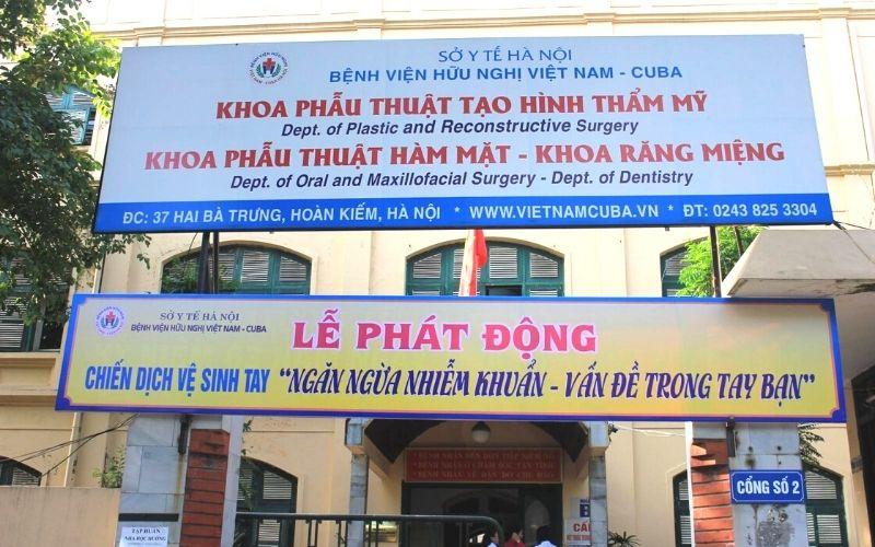 Bệnh viện Việt Nam Cuba là một trong những địa chỉ được nhiều người tin cậy