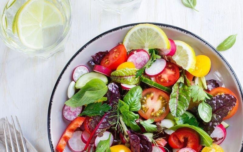 Nên sử dụng các món ăn chế biến từ rau quả