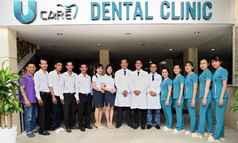Đội ngũ y bác sĩ tại UCare có nhiều năm kinh nghiệm trong lĩnh vực răng hàm mặt