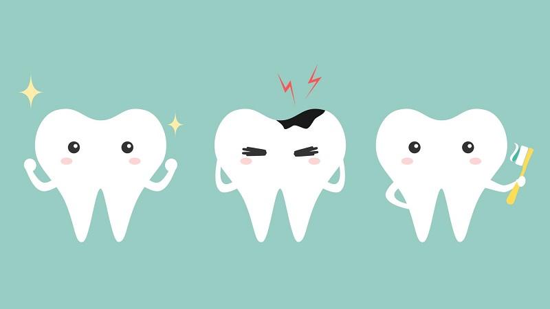 Sự tấn công của vi khuẩn là nguyên nhân gây sâu răng