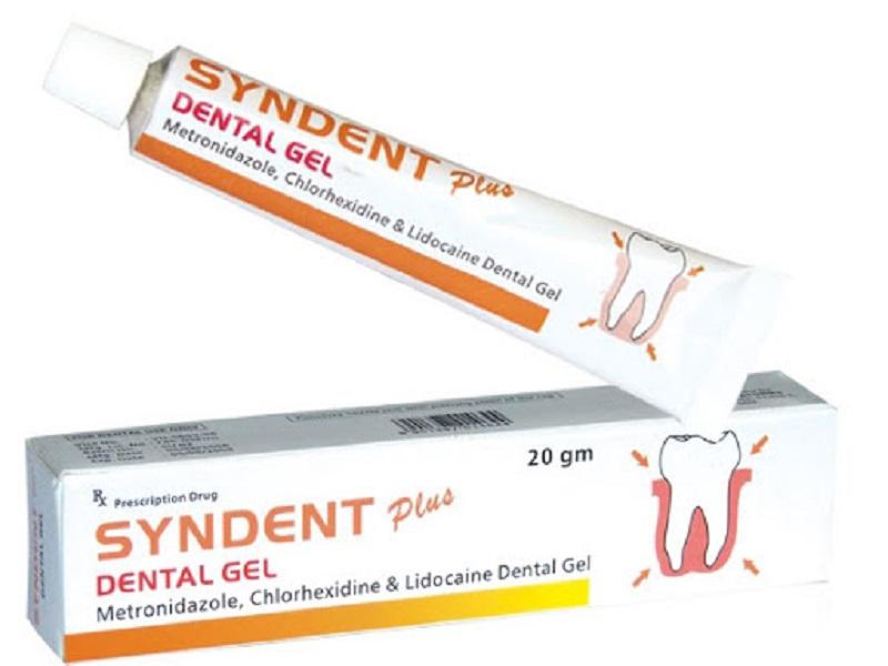 Syndent Plus Dental Gel có thể sử dụng để chữa cả bệnh viêm lợi lẫn viêm nha chu