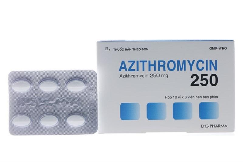 Bạn cần uống liên tục 3 ngày để Azithromycin phát huy công dụng