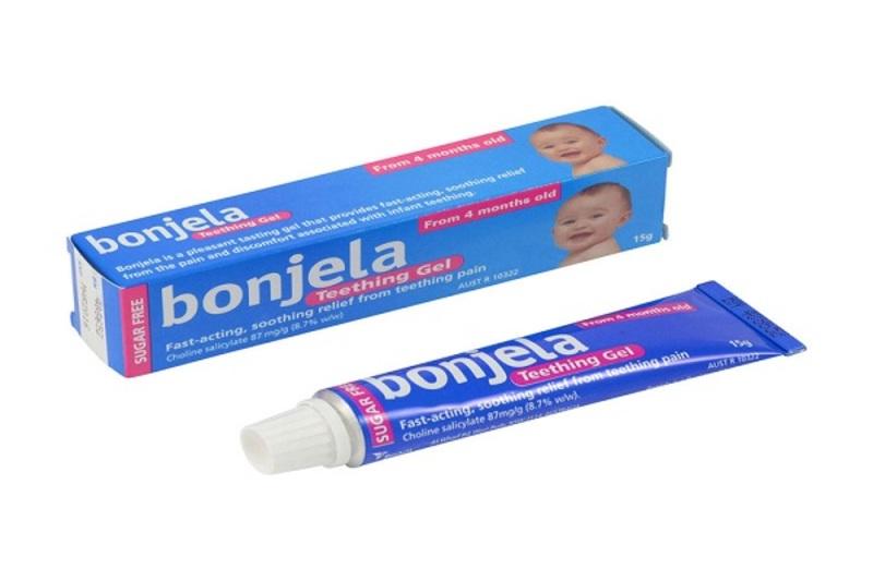 các nha sĩ khuyến cáo ba mẹ sử dụng các gel giảm đau, trị đau răng