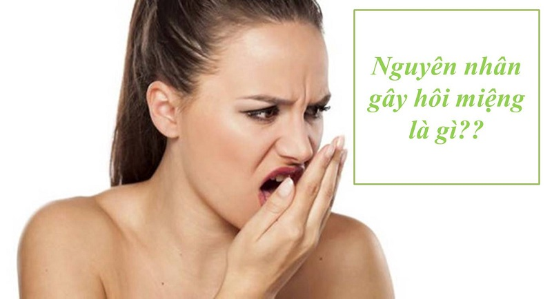 Hôi miệng là căn bệnh phổ biến với 20% người Việt mắc phải