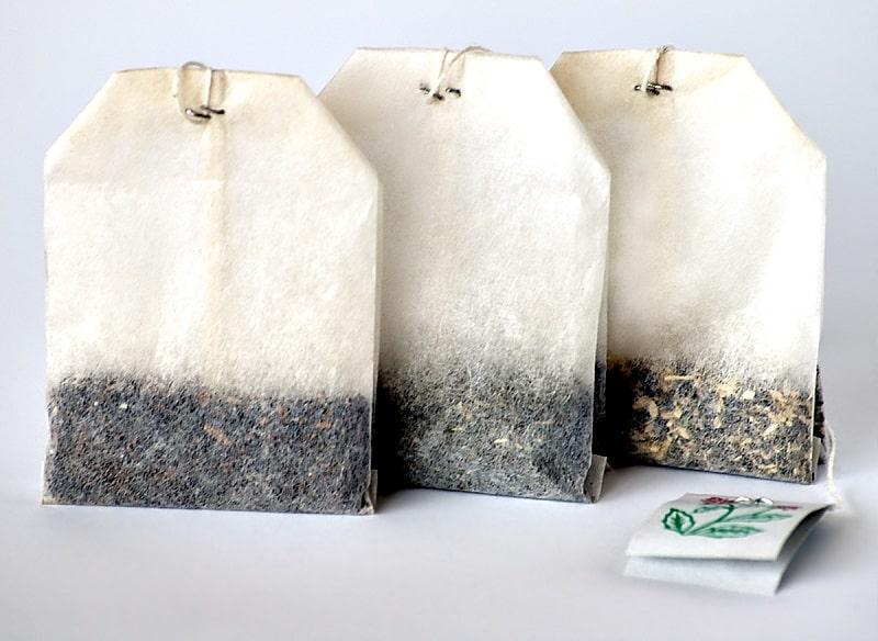 Túi lọc trà là nguyên liệu vừa tiết kiệm vừa hiệu quả để cải thiện tình trạng này