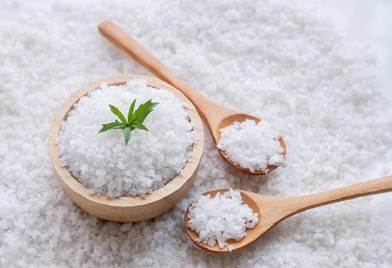 Muối được biết đến là nguyên liệu có tính sát khuẩn cao