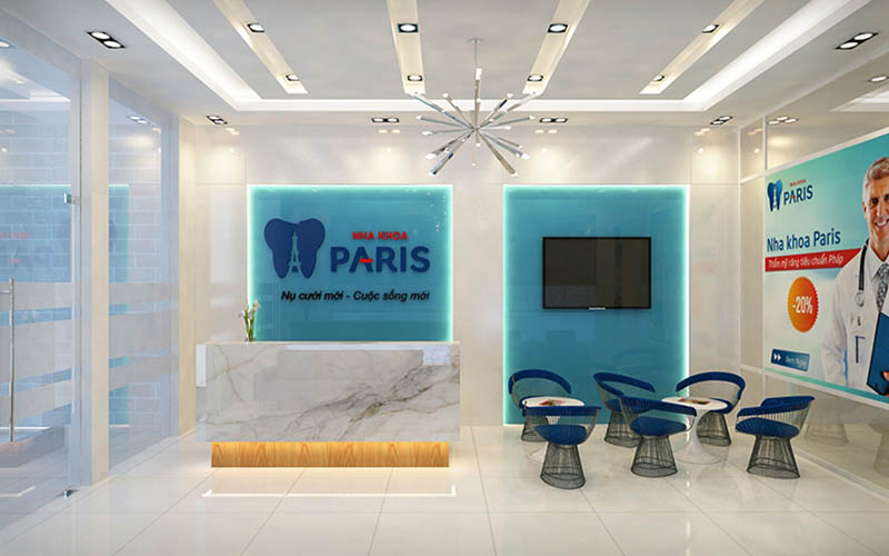 Nha khoa Paris là cơ sở đi đầu trong việc áp dụng hệ thống máy móc hiện đại vào điều trị các vấn đề về răng hàm mặt