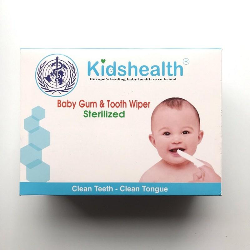 Gạc rơ lưỡi Kidshealth rất dễ tìm mua trên toàn quốc