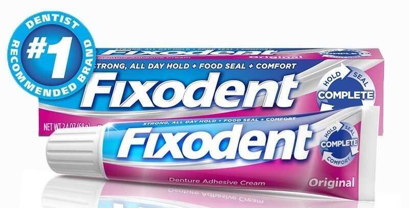 Fixodent là thương hiệu dán răng sứ được rất nhiều phòng khám nha khoa lựa chọn