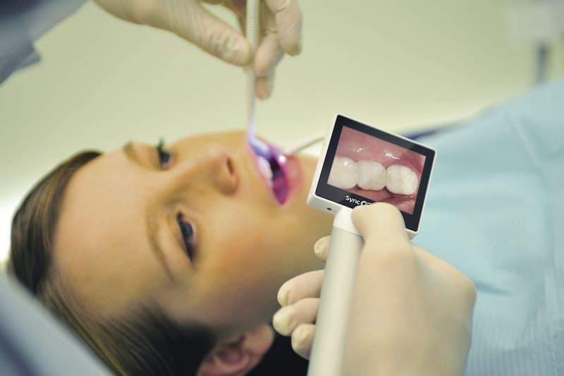 Công nghệ máy ảnh trong miệng đang được mong chờ nhất trong lĩnh vực nha khoa