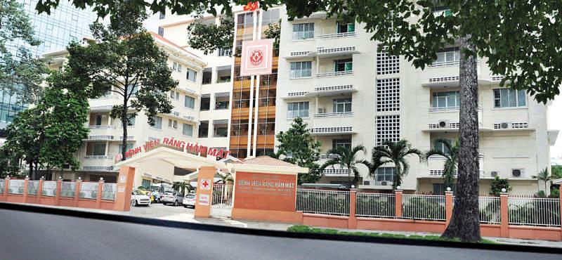 Bệnh viện Răng Hàm Mặt Trung ương có hai cơ sở chính là ở Hà Nội Và TPHCM