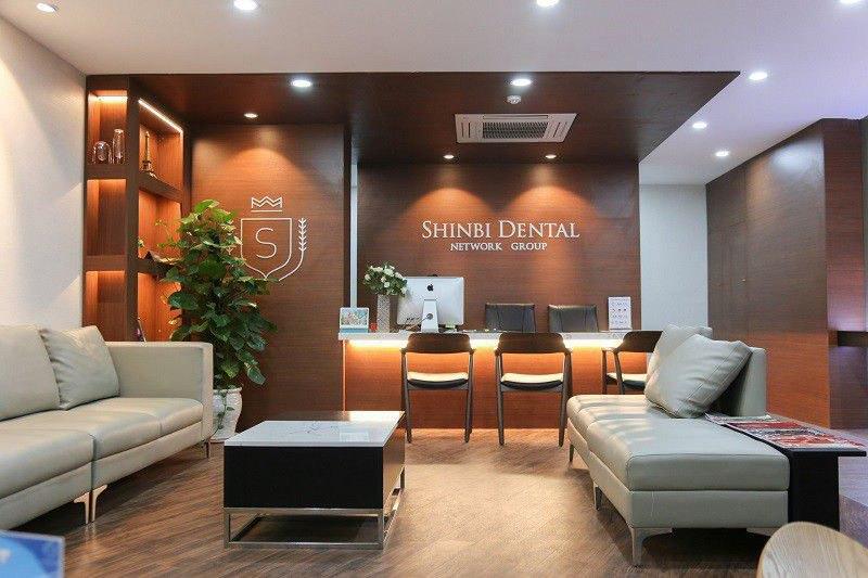 Sảnh tiếp đón bệnh nhân của bệnh viện Shinbi Dental