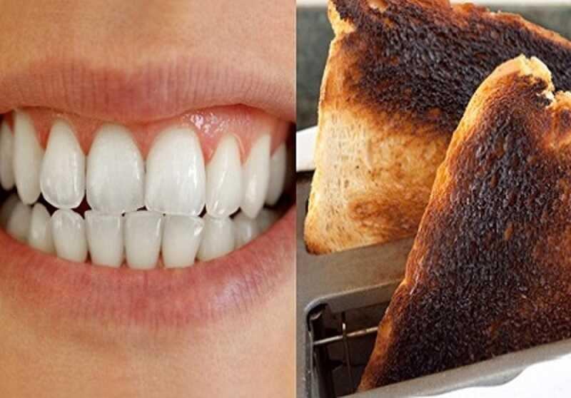 Bánh mì cháy chứa thành phần tương tự than hoạt tính giúp loại bỏ cao răng hữu hiệu