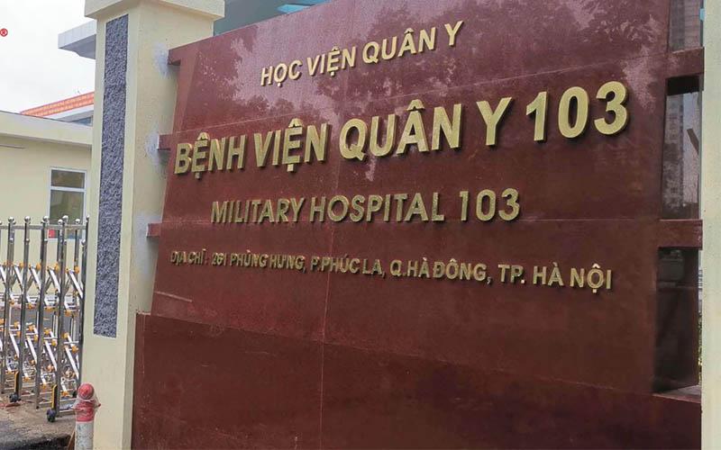 Phòng khám răng miệng - Bệnh viện Quân y 103 có đội ngũ bác sĩ chuyên khoa giàu kinh nghiệm
