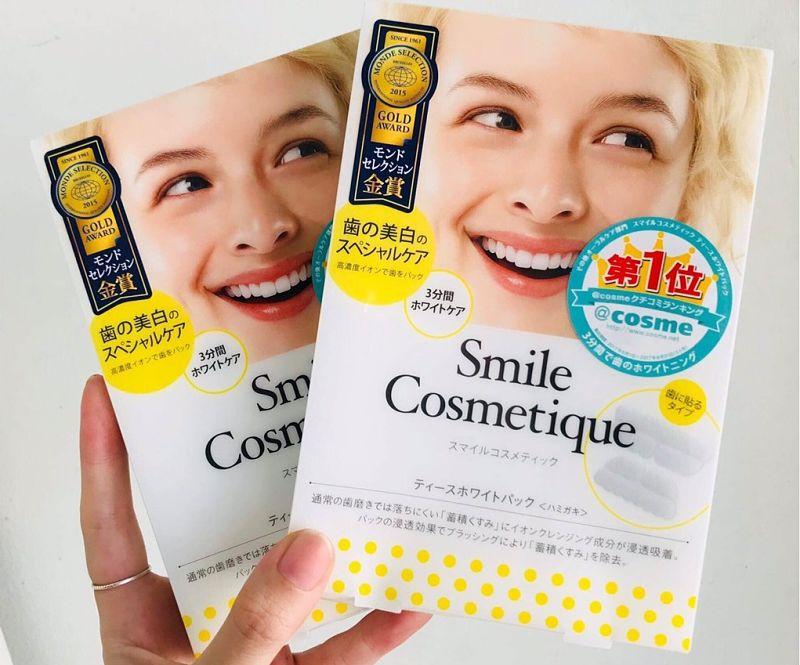 Miếng tẩy trăng Smile Cosmetique