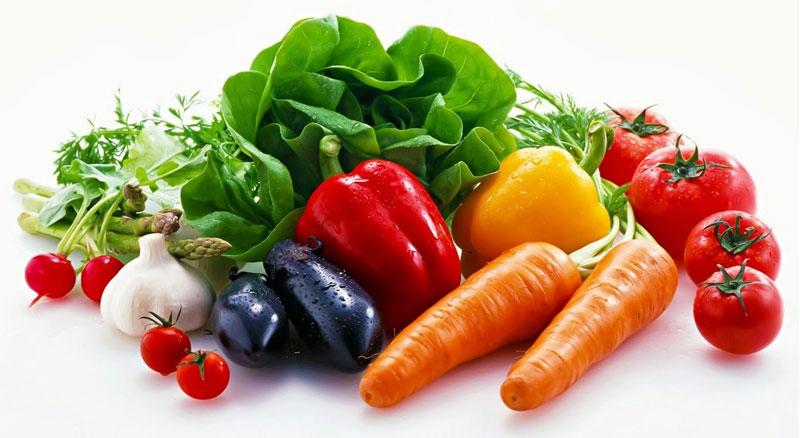 Người bệnh nên bổ sung rau củ quả vào chế độ ăn của mình