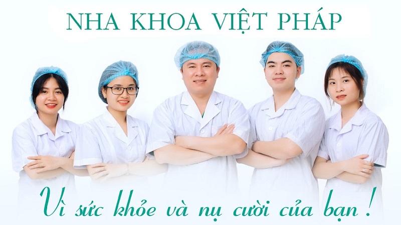 Đội ngũ y, bác sĩ tại Nha khoa Việt Pháp