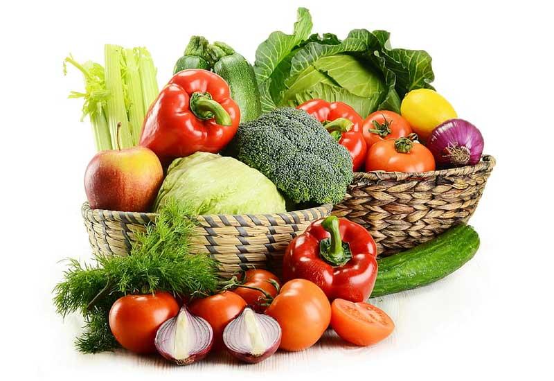 Chế độ ăn nhiều hoa quả và rau củ rất tốt