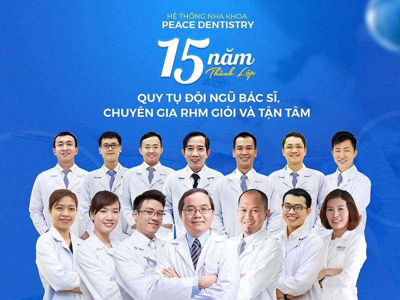 Địa chỉ bọc răng sứ thẩm mỹ TPHCM chất lượng tại Peace Dentistry